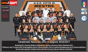 1ma squadra Campionato serie B nazionale gir. B Stagione 16/17