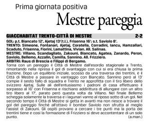 Gazzettino 04/10/16
