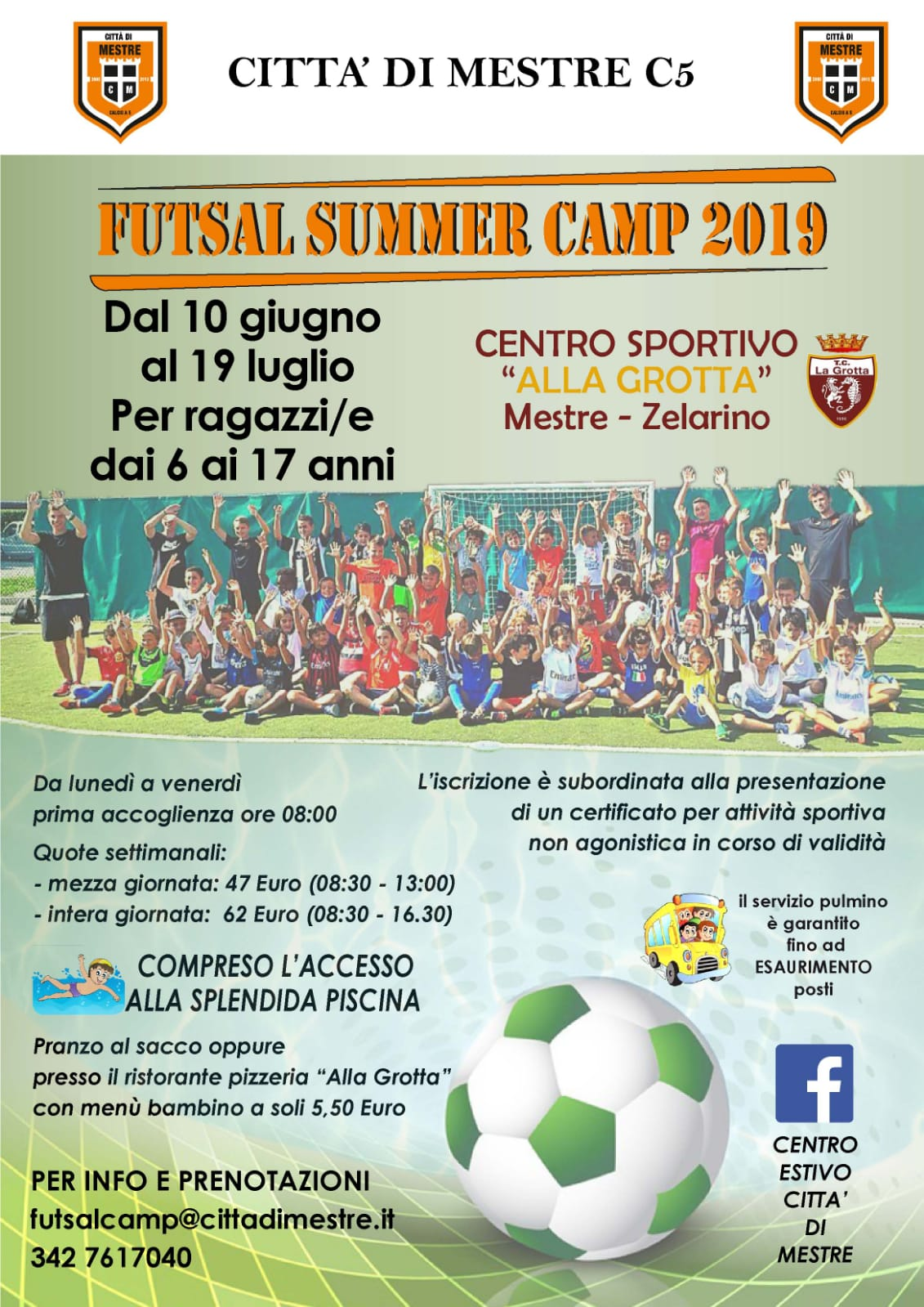 Futsal Summer Camp 2019